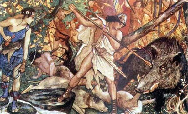 Những quái vật ác chiến nhất thần thoại Hy Lạp 5Calydonian-Boar