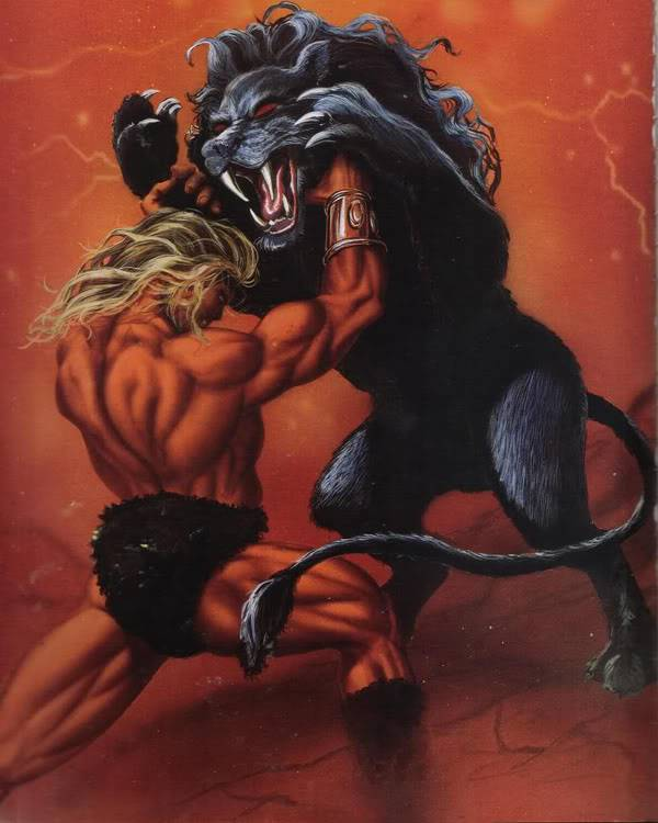 Những quái vật ác chiến nhất thần thoại Hy Lạp 8Nemean-Lion