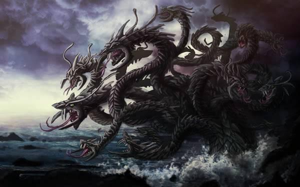 Những quái vật ác chiến nhất thần thoại Hy Lạp 9Hydra