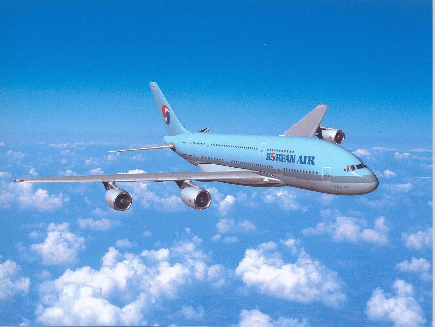 Airplane | 飛行機 | Máy bay Korean-Air-Airplane