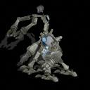 """algunas criaturas de mi nueva aventura """"asalto a 8 manos armadas"""" edicion 2 Robotdelpuerto1"""