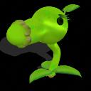 pack de plantas de Plantas vs Zombies (nivel 1) PEAshooter