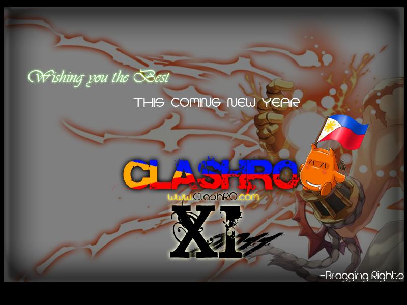 Happy New Year ClashRO! (My Gift for ClashRO) 2nd