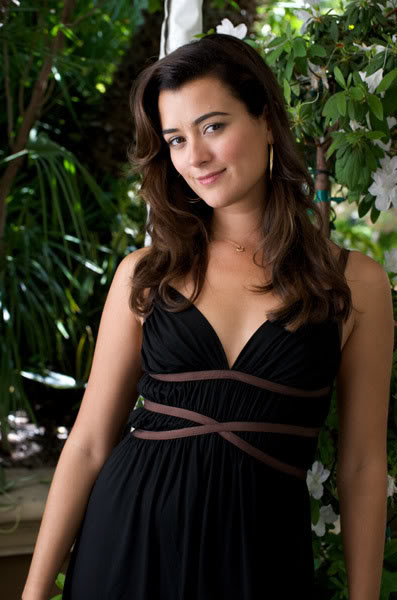 Ziva David NCIS-Press-Conference-Cote-De-Pablo