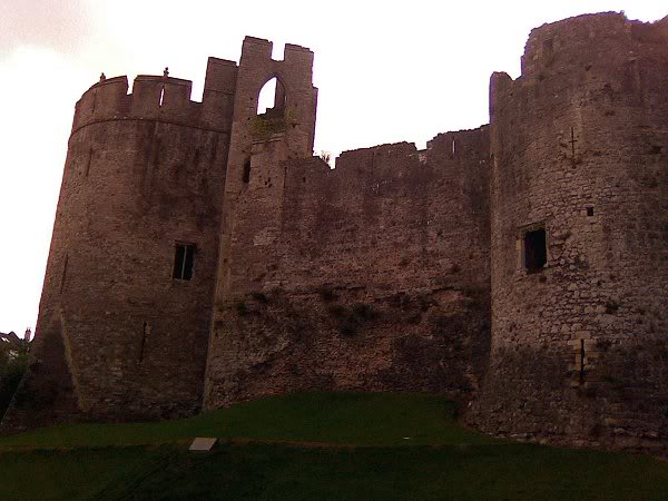 Chepstow Castle - South East Wales Border - August 2010 Image0145
