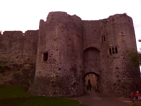Chepstow Castle - South East Wales Border - August 2010 Image0146