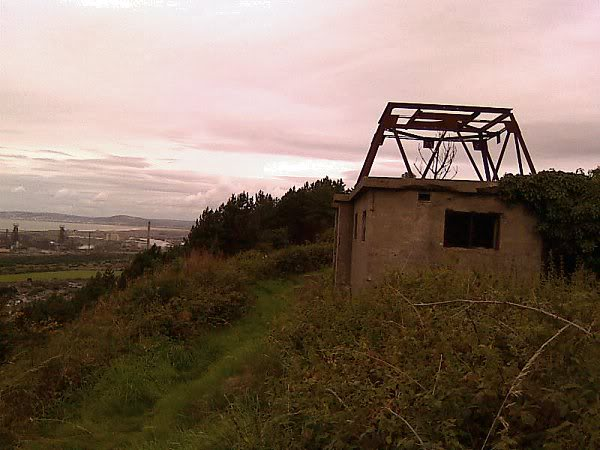 Swansea Bay WWII Radar Station - August 2010 8