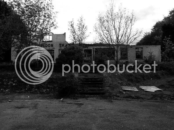 Abandoned Petrol Station - Haldon Hill, Nr.Exeter - November 2009 Dsc00500