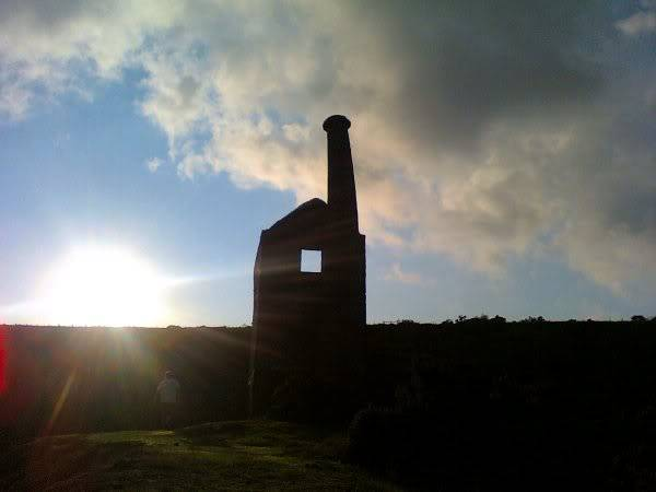 Wheal Betsy (Silver-Lead Mine) near Tavistock, Devon - August 2010 Mine_back_shadow