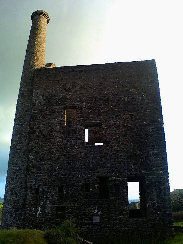 Wheal Betsy (Silver-Lead Mine) near Tavistock, Devon - August 2010 Mine_side