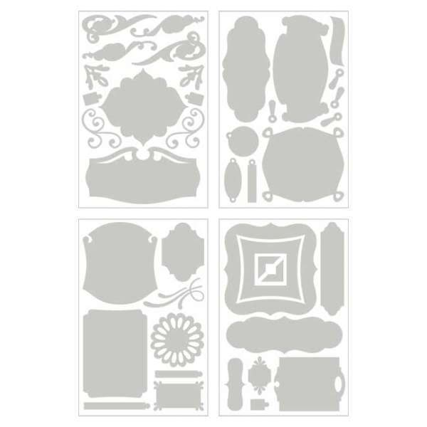 Swap de chipboards Basic Grey Periphery-Chip-Shapes