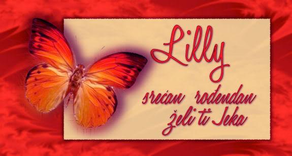 Lilly14 , srecan ti rodjendan  !  :) Lilly