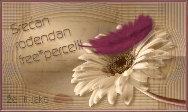 free*perce srecan rodjendan Perce