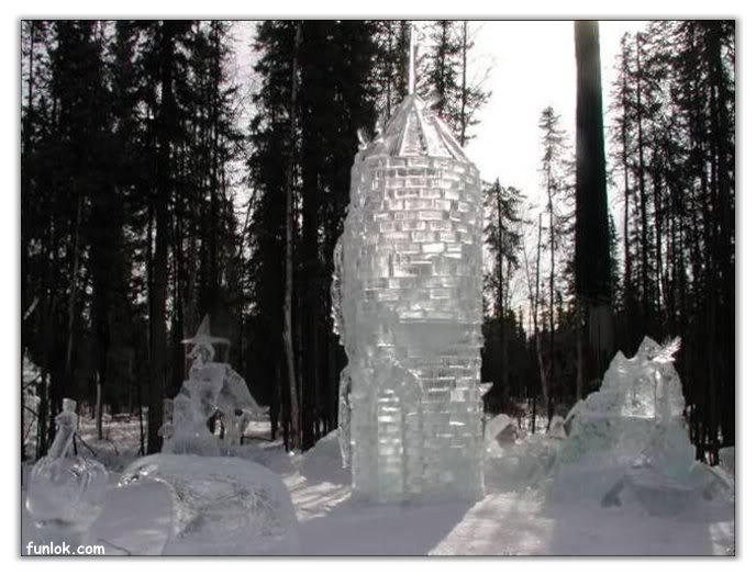 فن النحت على الثلج 53ff11b4