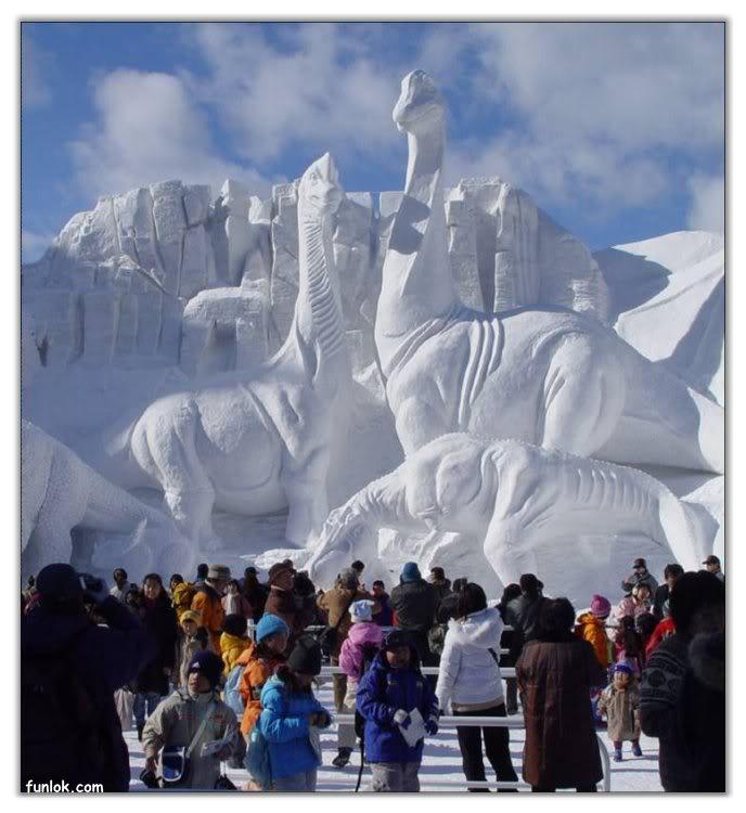 فن النحت على الثلج 97c65b09