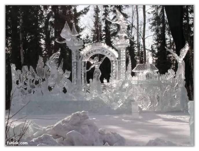 فن النحت على الثلج B077c2db