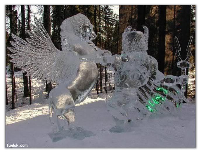 فن النحت على الثلج D2178330
