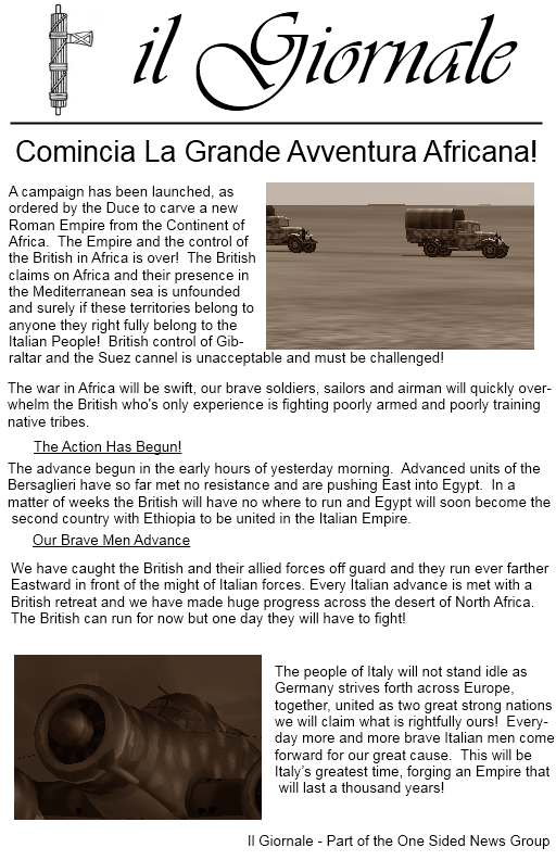 1st Nord Afrika Campaign News Nacpap1