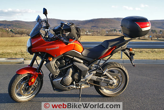 Pictures Kawasaki Versys with SHAD Motorcases Shad-sh46-versys-side-1