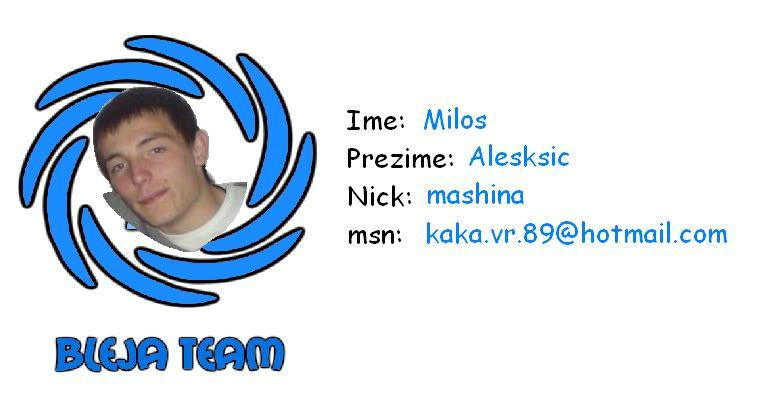 Bleja Team Kaka2