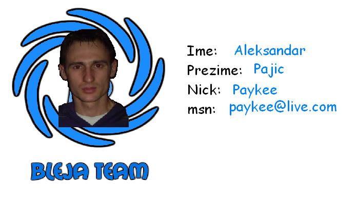 Bleja Team Payke1