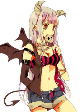 Kimiko [Demon] Animeskulldemon