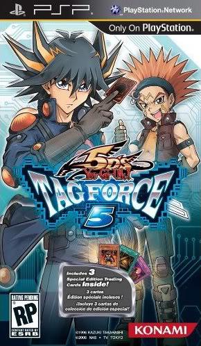 Yu-Gi-Oh! Tag Force 5 Boxm