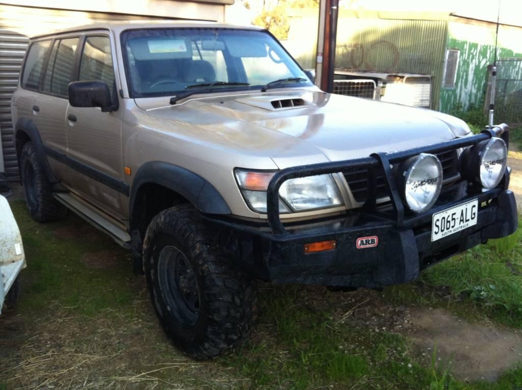 1999 GU Nissan Patrol  IMG_5987