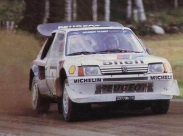 Peugeot 205 Turbo 16 E2. Ixo-Altaya. Juanh Racing Team 007  000