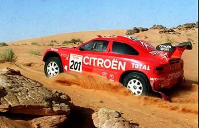 Citröen ZX Rallye Raid. Ixo-Altaya. Juanh Racing Team 005  01-1