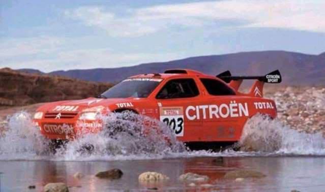 Citröen ZX Rallye Raid. Ixo-Altaya. Juanh Racing Team 005  02-3
