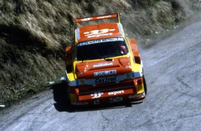 MG Metro 6R4. Ixo-Altaya. Juanh Racing Team 006  02-4