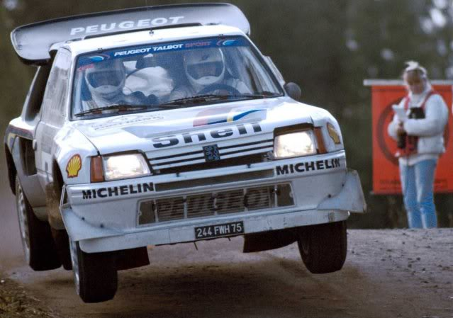 Peugeot 205 Turbo 16 E2. Ixo-Altaya. Juanh Racing Team 007  02-5