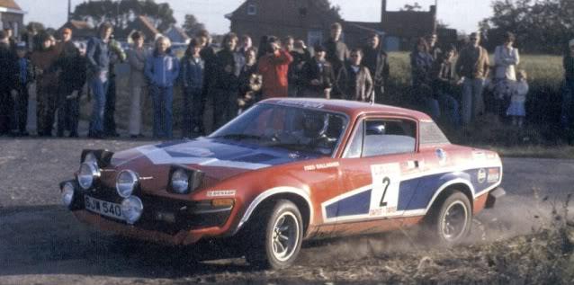 Triumph TR7 V8. Ixo-Altaya. Juanh Racing Team 002  02