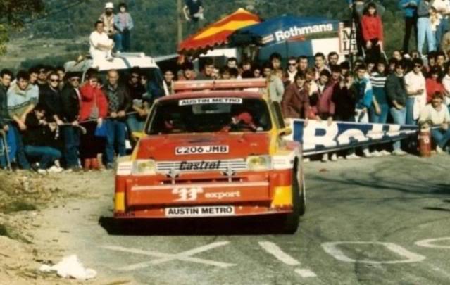 MG Metro 6R4. Ixo-Altaya. Juanh Racing Team 006  03-1