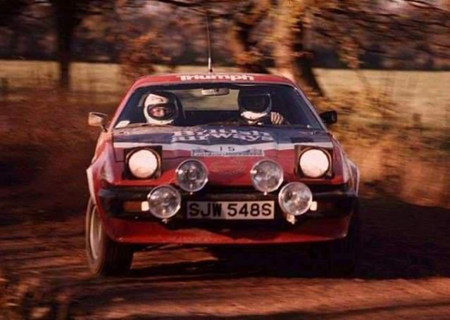 Triumph TR7 V8. Ixo-Altaya. Juanh Racing Team 002  04-1