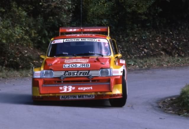 MG Metro 6R4. Ixo-Altaya. Juanh Racing Team 006  04-5