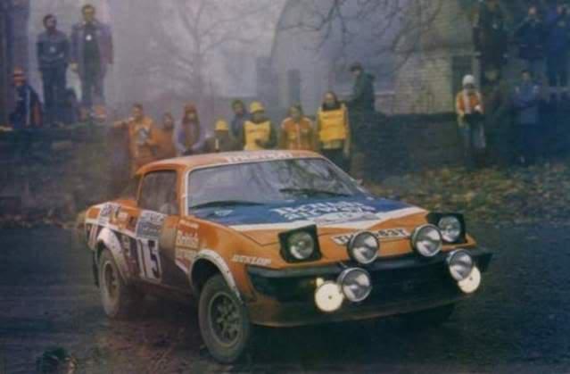 Triumph TR7 V8. Ixo-Altaya. Juanh Racing Team 002  05-1