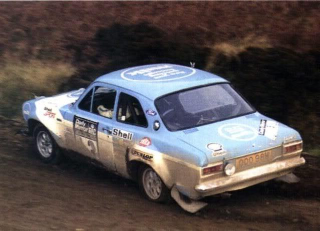 Ford Escort MK1 RS1600. Ixo-Altaya. Juanh Racing Team 013  05-10