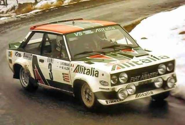 Fiat 131 Abarth. Ixo-Altaya. Juanh Racing Team 009  05-7