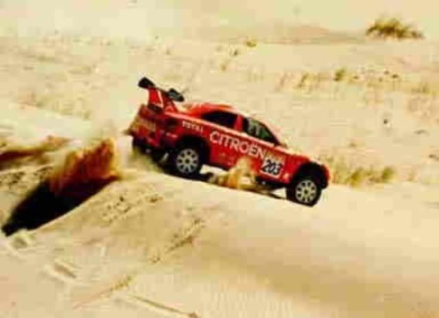 Citröen ZX Rallye Raid. Ixo-Altaya. Juanh Racing Team 005  07