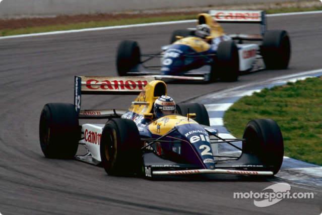 Williams FW15C Renault. Ixo-Altaya. Juanh Racing Team 012  1-10