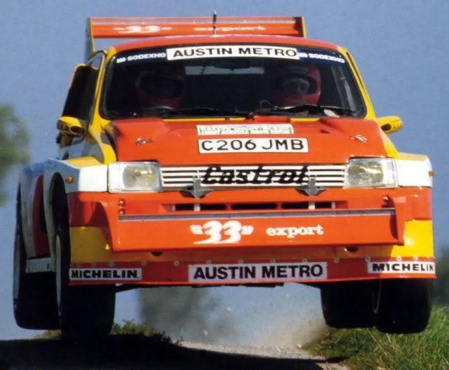 MG Metro 6R4. Ixo-Altaya. Juanh Racing Team 006  1-4