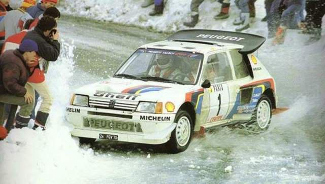 Peugeot 205 Turbo 16 E2. Ixo-Altaya. Juanh Racing Team 007  1-5
