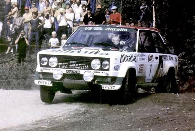 Fiat 131 Abarth. Ixo-Altaya. Juanh Racing Team 009  1-7