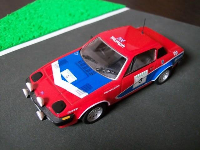 Triumph TR7 V8. Ixo-Altaya. Juanh Racing Team 002  100_1258