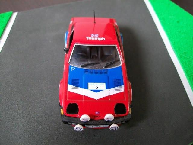 Triumph TR7 V8. Ixo-Altaya. Juanh Racing Team 002  100_1268