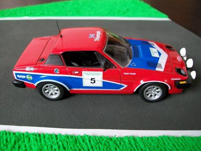 Triumph TR7 V8. Ixo-Altaya. Juanh Racing Team 002  100_1271