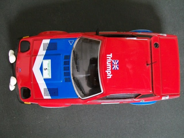Triumph TR7 V8. Ixo-Altaya. Juanh Racing Team 002  100_1273