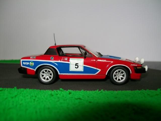 Triumph TR7 V8. Ixo-Altaya. Juanh Racing Team 002  100_1286